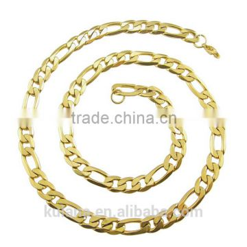 6/8mm 3:1NK Chain Gold Necklace Designs in 10 grams 91817