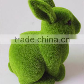 Home and Garden easy Shopping decorative 30cm Height artificial green grass Moss Bunny easter Rabbit E10 26T08
