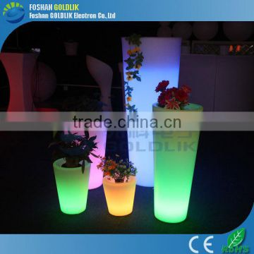 Playground Water Draining RGB Multicolors Glow Flower Pot LED