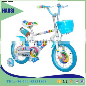 Hot sale princess girls bicycle/ colorful kid bikes/ yellow bicycle for kids/factory price children bicycles