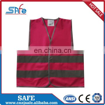 mesh fabric kids safety vest colors