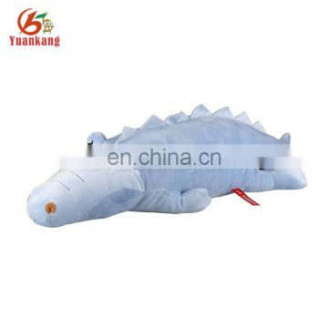 Hot Sale Wholesale Custom Made Plush Toys Cute Crocodile Sleeping Bed Pillow
