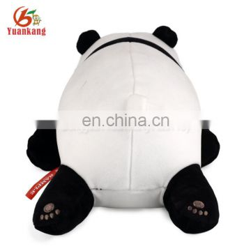 ICTI certificated custom plush panda toys pillow