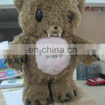Realistic animal model , toy Bear that look real plush animal claw toy paw