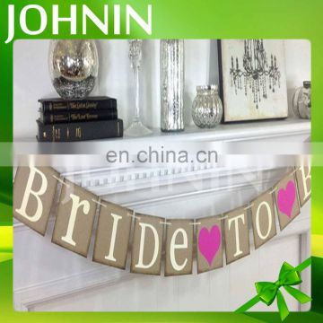 high quality popular decorative customized design multi-coloured party bunting