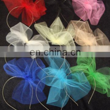 2017 Promotional Sequins Carnival Party Bow Headbands For Party Decoration