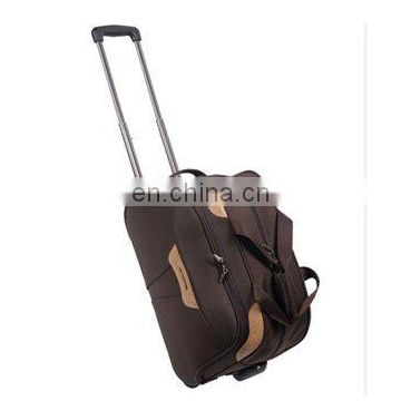 Good designer promotional trolley duffel bag with your own logo