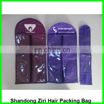 self adhesive hair extensions bags,plastic bags for hair extensions packaging