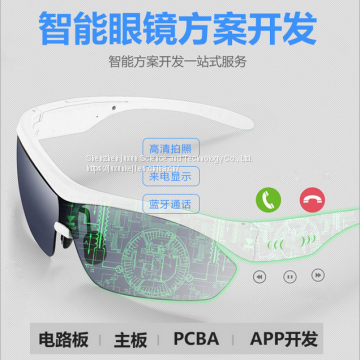 Intelligent wear equipment for eyeglasses