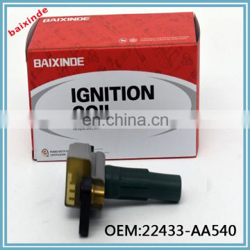 Auto parts High Quality Ignition Coil OEM FK0186 12V 22433-AA540 22433AA540