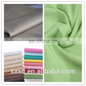 TC 65/35 110*76 air jet loom dyed poplin fabric textile for shirt