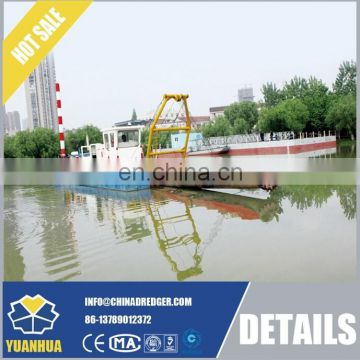 8 Inch Cutter Suction Dredger With Swing Ladder Dredge