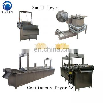 Automatic 500kg/h Stainless Steel 304 Frozen French Fries Production line