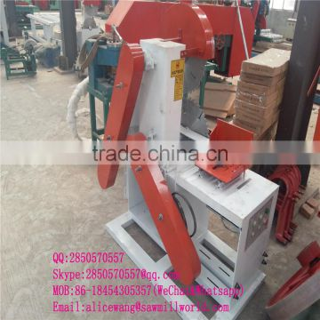 wood sliding table sawmill machine made in Shandong