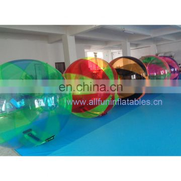 Inflatable colourful water ball, water walker, water roller ball