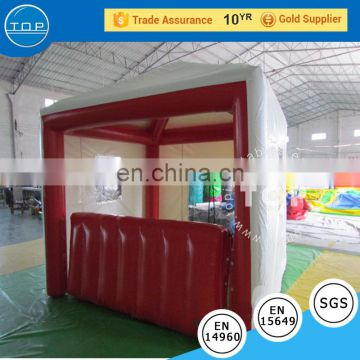 Inflatable kiosk show tent , Inflatable Ticket Booth tent for rental