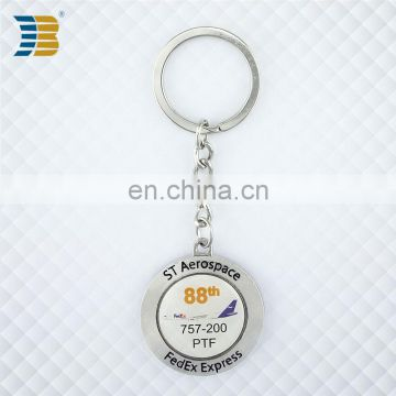 wholesale soft enamel custom metal key chain