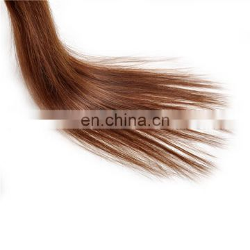 Wholesale adhesive tape hair extensions top quality color 4# indian hair products 7a grade human hair skin weft