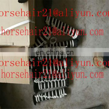 Horse hair for cosmetic brush