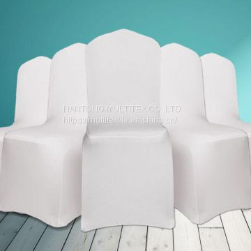 Wholesale cheaper spandex chair cover wedding and banquet stretch lycra chair cover