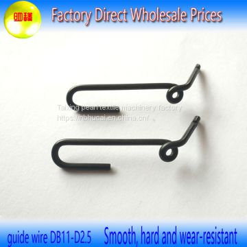 Supplies each factory spinning machine accessories general metal guide yarn hook China