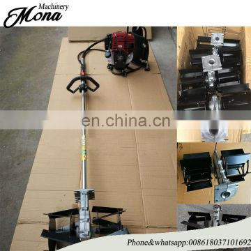 Hand-hold mini useful sugarcane harvester /corn soybean rice Ploughing/Tilling/Weeding machine