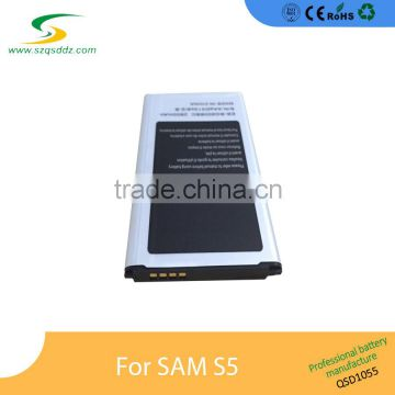Super quality and cheaper price for Sam Galaxy S5 battery from mobile phone accessories factory in china