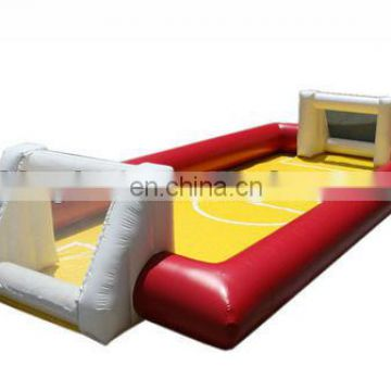 Pop high quality inflatable soccer field