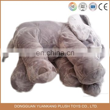 custom stuffed elephant microbead pillow