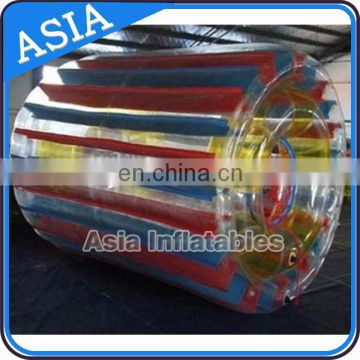 Inflatable Water Tuber, Water Roller with colour strips