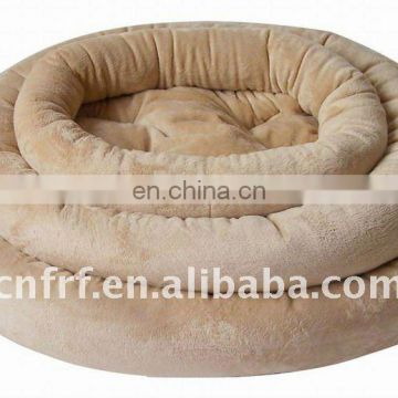Inflatable Flocked Pet Bed