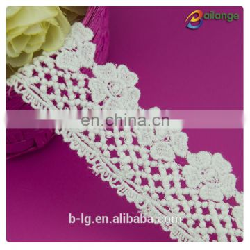 2016 wholesale Chemical Procuct type lace 100% Cotton Lace Chemical Lace Fabric