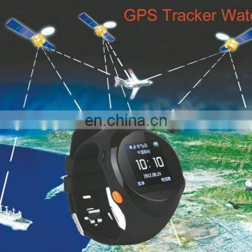S888 GPS Tracker Watch Phone SOS Calling Elder Smart Watch with Calling Function