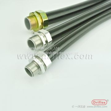 Liquid-tight Flexible Metal Conduit for Wiring Cabling Protection with Water Proof Out Door