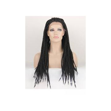 Double Wefts  Indian Full Lace Human Hair Wigs For Black Women