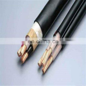 Fire Resistant 7*0.75MM Size Marine Copper Wire Braided Shield Control Cable