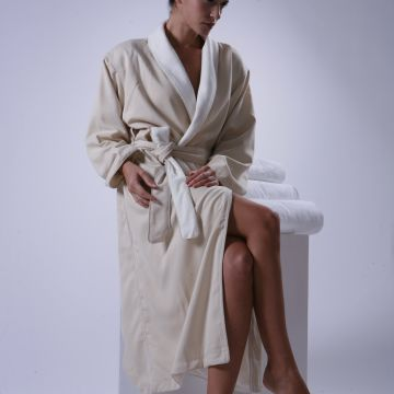 Eliya Wholesale 100% Cotton Terry Towel Bathrobe Hotel Collection Robe
