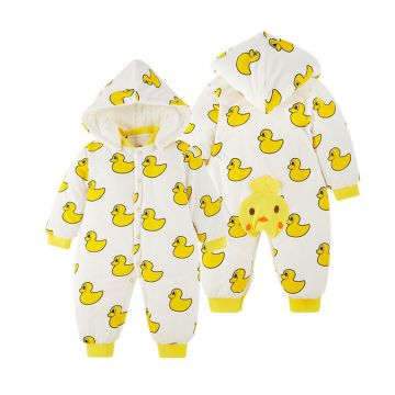 Yellow  Cute Newborn Baby Outfits