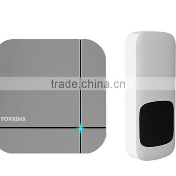 52 optional chimes wireless doorbell IP44 Water-proof touch button 110-220V US easy plug in doorbell