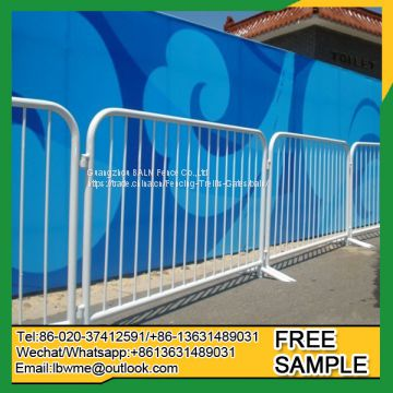 Pvc coated outdoor retractable fence temporary fence
