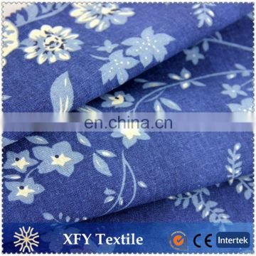 fashional printed cotton linen fabric for dress/suit/coat/jacket