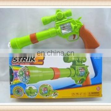 electirc gun toys with music and light