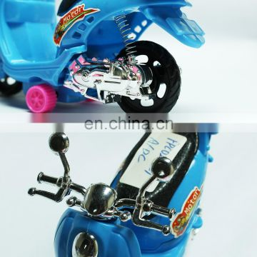 Wholesale small Pull back motorcycle candy filled toys