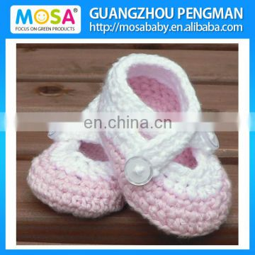 Crochet Baby Booties Pink Baby Shoes Baby Girl Booties Crochet
