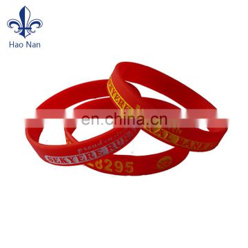 2017 popular gift items silicone rubber bands for sport
