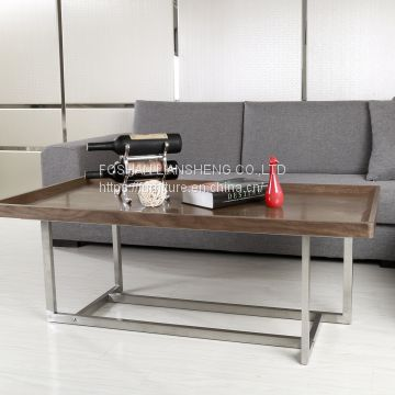 LSCUKOO Modern Coffee Table
