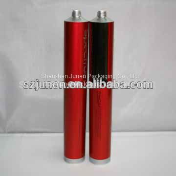 Empty Aluminum Hair Colorant Packaging Tube