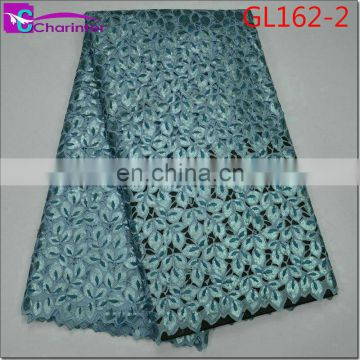 High quality african lace fabric organza GL162