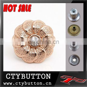 CTY-DP(42) hot sale metal custom denim buttons