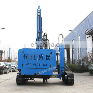 Brand new diesel powered screw pile driver hydraulic pile driver for Solar Photovoltaic